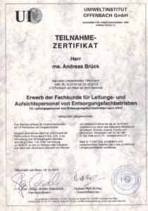 Schadstoffsanierung und Asbestentsorgung in Gießen durch die Brück GmbH in Fernwald