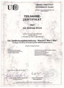 Brandschutzsanierung und Brandsanierung Gießen durch Andreas Brück