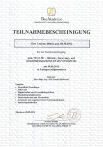 Brück GmbH Abbrucharbeiten und Sanierungsarbeiten in Gießen